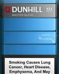 Dunhill Zigaretten warden mit